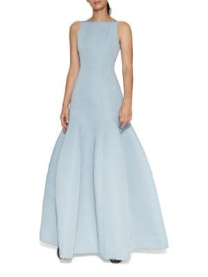 Sleeveless Trumpet Gown by Halston Heritage
