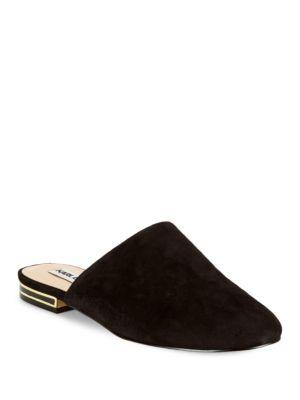 Royce Suede Slides by Karl Lagerfeld Paris