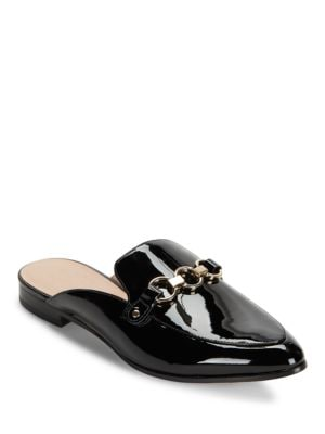 Cece Too Point Toe Patent Leather Mules by Kate Spade New York