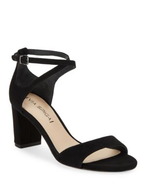 Wendi Suede High Heels by Via Spiga