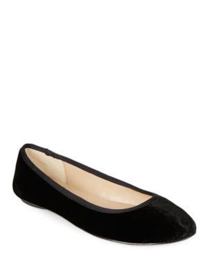 Buy Leroux 2 Velvet Flats by Karl Lagerfeld Paris online