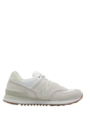 WL 574 Round Toe Lace-Up Sneakers by New Balance
