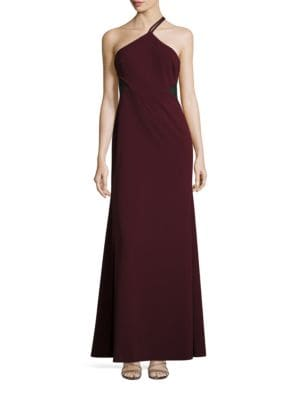 Illusion Cutout Evening Gown by Vera Wang