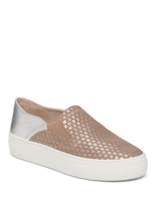 Kyah Leather Sneakers by Vince Camuto