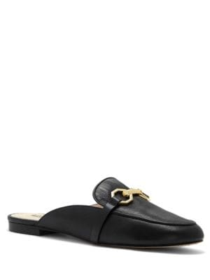 Finay Leather Mules by Louise et Cie