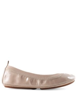 Samara Solid Leather Ballet Flats by Bloch