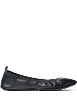 Vienna Leather Slip-On Ballet Flats by Yosi Samra