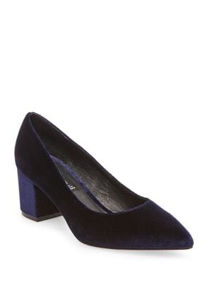 Bambu Velvet Dress Pumps by Steven by Steve Madden