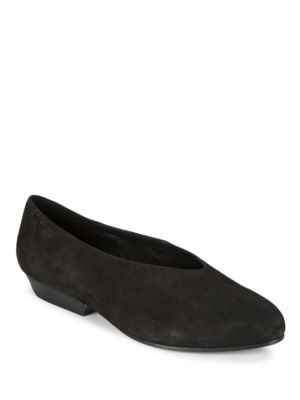 Sabin Nubuck Flats by Eileen Fisher