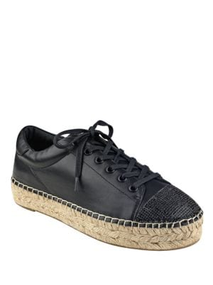 Joslyn Leather Espadrille Sneakers by KENDALL + KYLIE