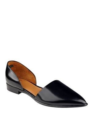Amelie Slip-On D'Orsay Flats by Marc Fisher LTD