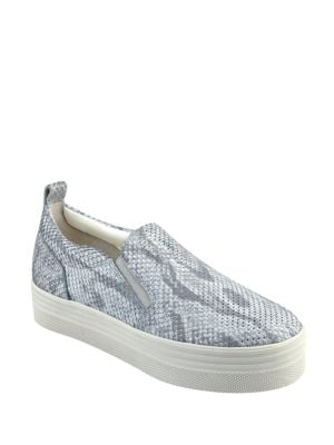 Elise Snake Skin Print Slip-On Sneakers by Marc Fisher LTD