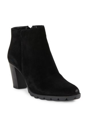 Dipsy Suede Ankle Boots by The Flexx