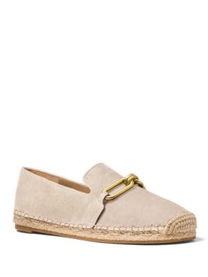 Lennox Suede Espadrille Flats by Michael Kors Collection