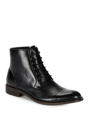 Direct Route Lace Up Cap Toe Boots by Kenneth Cole REACTION