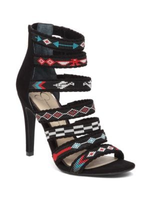Erienne Beaded Sandals by Jessica Simpson