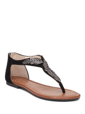 Kalie Zippered Thong Sandals by Jessica Simpson