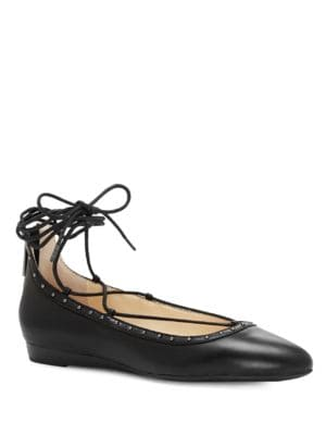 Libra Kid Leather Flats by Jessica Simpson