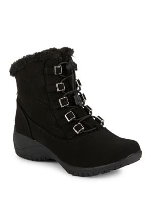Alexa Faux Fur Lined Boots by Khombu