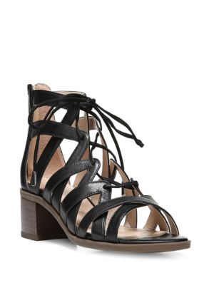 Ocean Leather Strappy Sandals by Franco Sarto