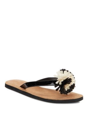 Irvina Leather Thong Sandals by Kate Spade New York