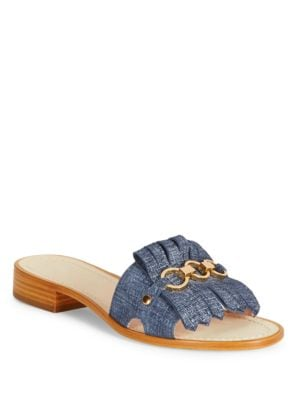 Brie Suede Slip-On Sandals by Kate Spade New York