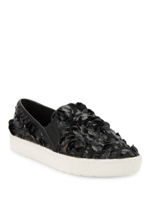 Carmen Slip-On Faux Leather Sneakers by IMNYC Isaac Mizrahi