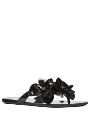 Meoli Floral Embellished Sandals by Nine West