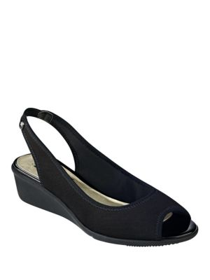 Jayla Wedge Slingbacks by Anne Klein