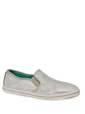 Bennett Metallic Leather Skate Sneakers by Jack Rogers
