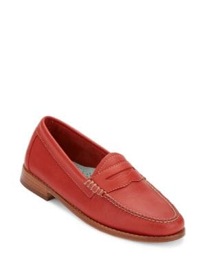 Whitney Leather Penny Loafers by G.H. Bass
