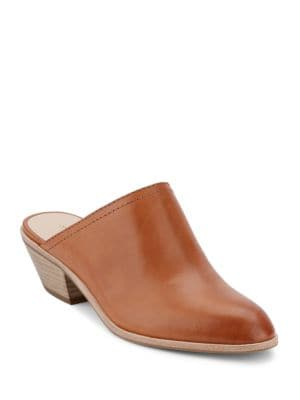 Nikki Leather Slip-On Mules by G.H. Bass