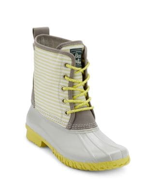 Daisy Striped Duck Boots by G.H. Bass