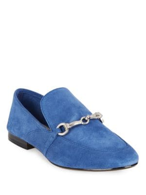 Gabby1 Suede Loafers by 424 Fifth