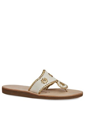 Boating Whipstitch Thong Sandals by Jack Rogers