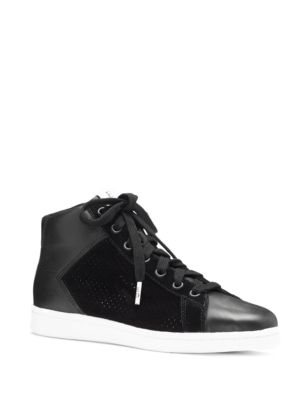 Ed Carmarilo 2 Leather Hi-Top Sneakers by Ed Ellen Degeneres