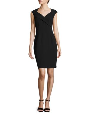 Cap Sleeve Sheath Dress by Vince Camuto