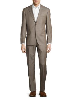 Textured Wool-Blend Suit Set by Lauren Silver