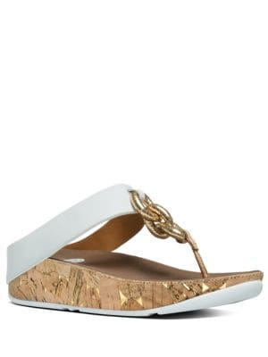 Superchain TM Chain Thong Sandals by FitFlop