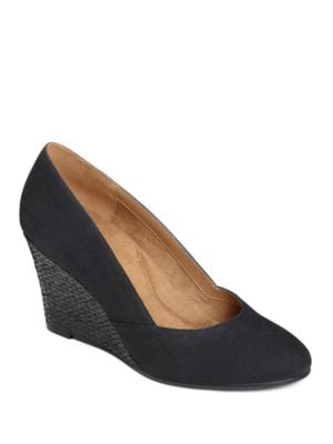 Artillery Slip-On Wedge Pumps by Aerosoles