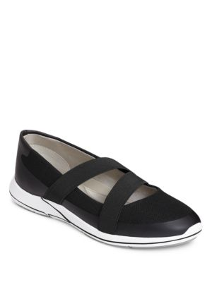 Track Record Double Elastic Strap Slip-On Sneakers by Aerosoles