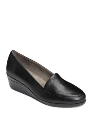 True Match Wedge Heel Loafers by Aerosoles