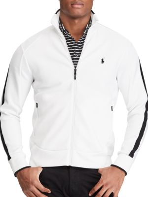 Double-Knit Track Jacket by Polo Ralph Lauren