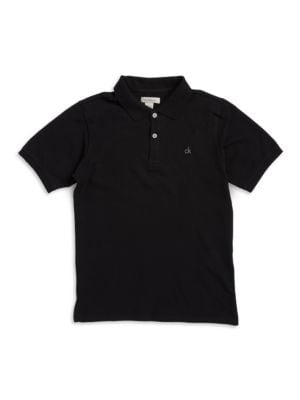 Boy's Logo Embroidered...