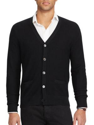 V-Neck Cardigan by Polo Ralph Lauren
