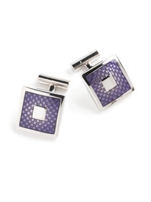 Purple Cufflinks @...