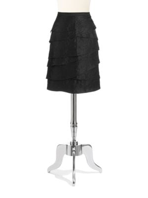 Tiered Skirt by Adrianna Papell