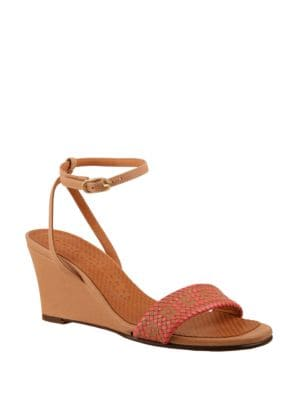 Anko Leather Wedge Sandals by Chie Mihara