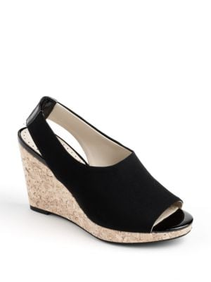Chyna Wedge Pumps by Adrienne Vittadini