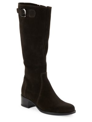 Hannah Suede Riding Boots by La Canadienne